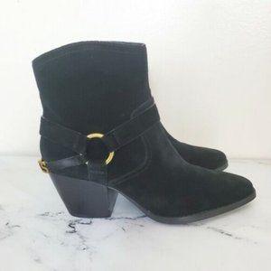 Michael Kors Goldie Suede Black Boots